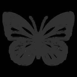 Monarchfalter-Symbol