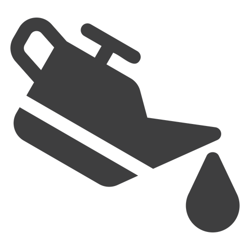 Ícone de distribuidor de óleo de motor Transparent PNG