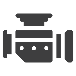 Ícone do carburador da motocicleta