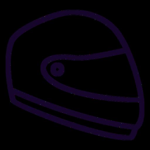Icono de motocicleta casco icono plana motocicleta Transparent PNG