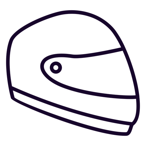 Motorcycle helmet flat icon motorcycle icon Transparent PNG