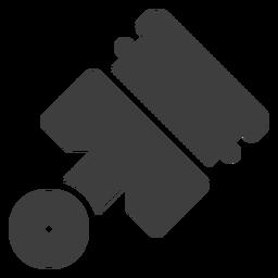 Ícone de pistão da motocicleta