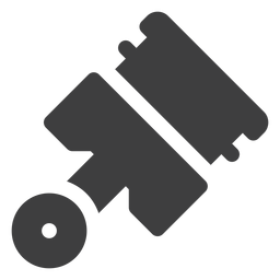 Icono de pistón de motocicleta