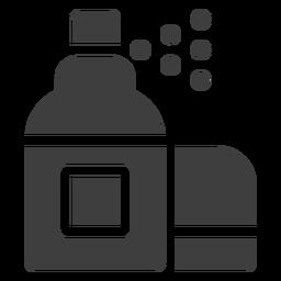 Icono de limpiador en aerosol de motocicleta