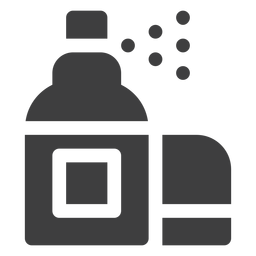 Motorcycle spray cleaner icon