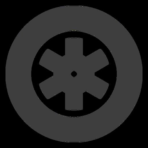 Icono de la rueda de la motocicleta Transparent PNG