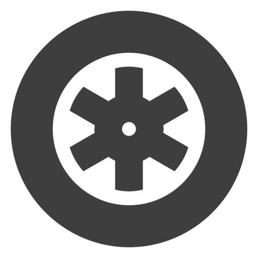 Motorcycle wheel icon Transparent PNG