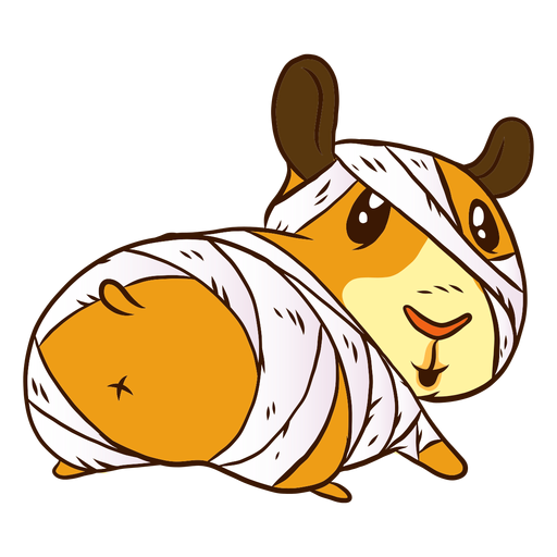 Dibujos animados de momia conejillo de indias Transparent PNG
