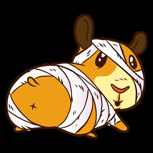 Mummy guinea pig cartoon Transparent PNG
