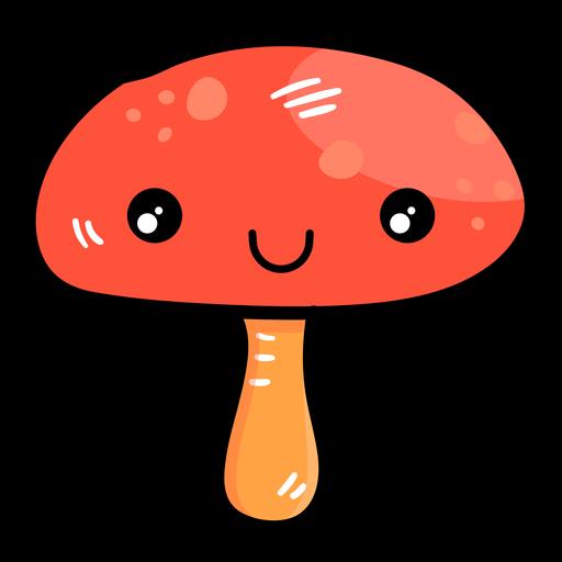 Icono de dibujos animados de hongos