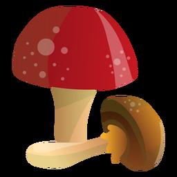 Ilustração de cogumelos