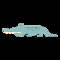 Ilustración del cocodrilo del Nilo