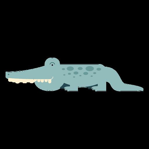 Ilustración del cocodrilo del Nilo Transparent PNG