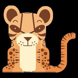 Ilustração de jaguatirica