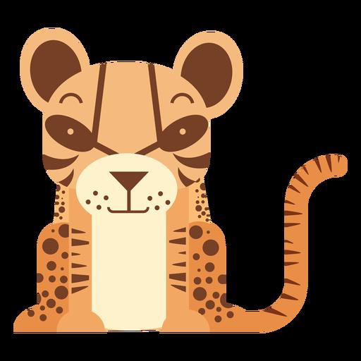 Ilustração de jaguatirica Transparent PNG