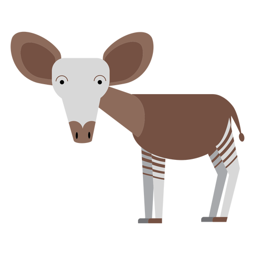 Okapi giraffe illustration Transparent PNG