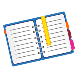 Open notebook icon