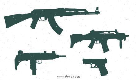 Formas personalizadas: armas atualizadas