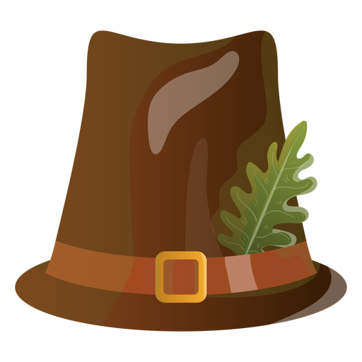 Pilgrim hat illustration Transparent PNG