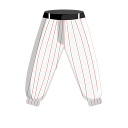 Pinstripe baseball pants icon