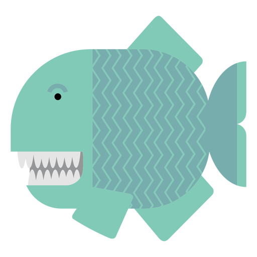 Piranha fish illustration Transparent PNG