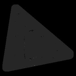 Icono de pizza rebanada plana