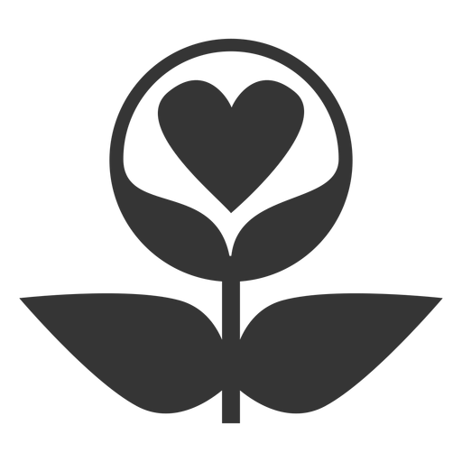 Plant love line style icon Transparent PNG