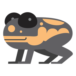 Poison dart frog illustration