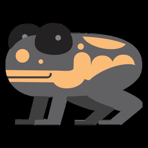 Ilustración de rana dardo venenoso Transparent PNG