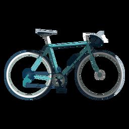 Icono de bicicleta de carreras