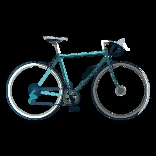Icono de bicicleta de carreras Transparent PNG