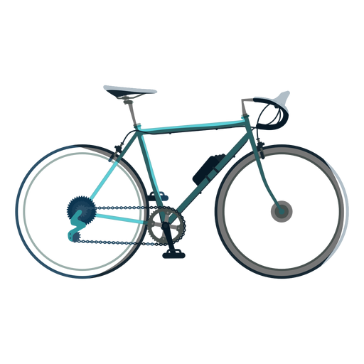 Racing bicycle icon Transparent PNG