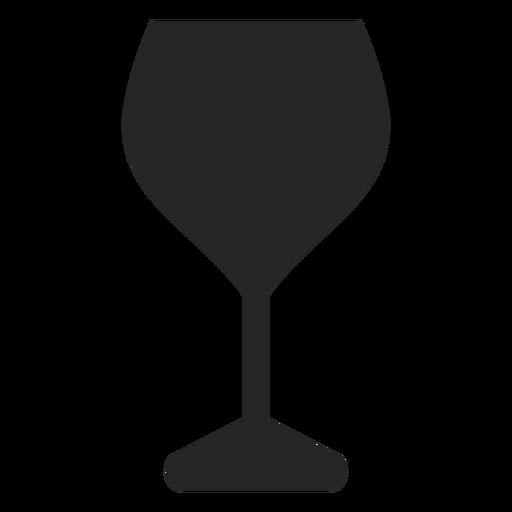 Copa de vino tinto icono plana restaurante iconos Transparent PNG