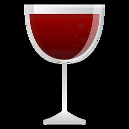Icono de copa de vino tinto