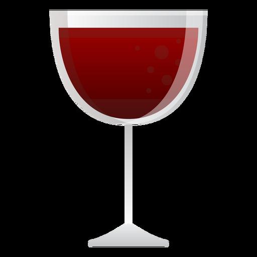 Copo de vinho tinto Transparent PNG