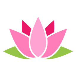 Sacred lotus icon