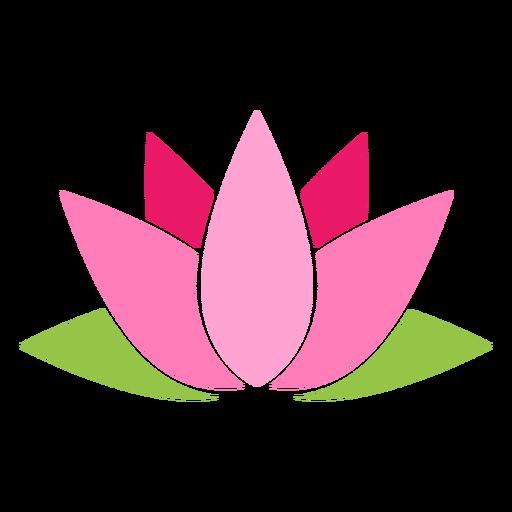 Sacred lotus icon Transparent PNG