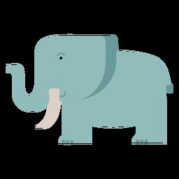 Ilustração de elefante savana