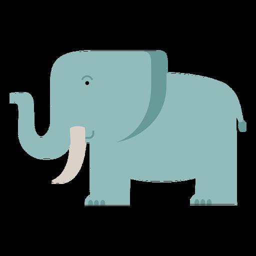 Ilustración de elefante de sabana Transparent PNG