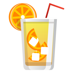 Screwdriver cocktail icon
