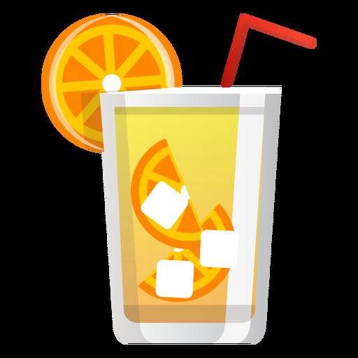 Icono de cóctel destornillador Transparent PNG