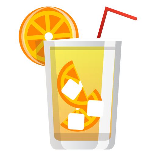 Screwdriver cocktail icon Transparent PNG