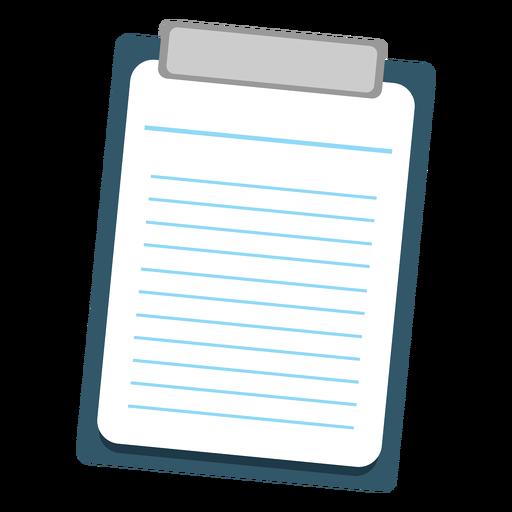 Hoja en el icono del portapapeles Transparent PNG