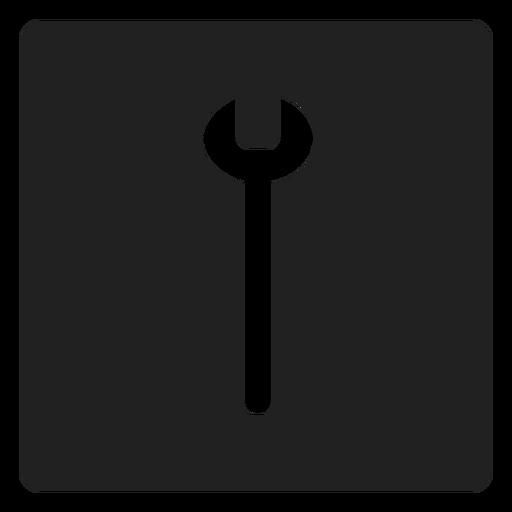 Llave simple icono cuadrado Transparent PNG