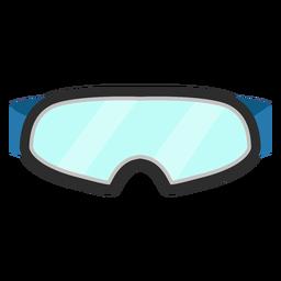 Icono de gafas de esqui