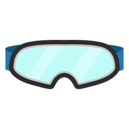 Ski glasses icon