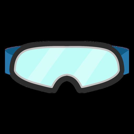 Ski goggles eyewear icon