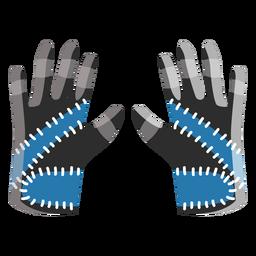 Ski gloves icon