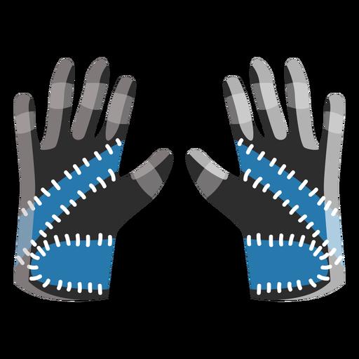 Ski gloves icon Transparent PNG