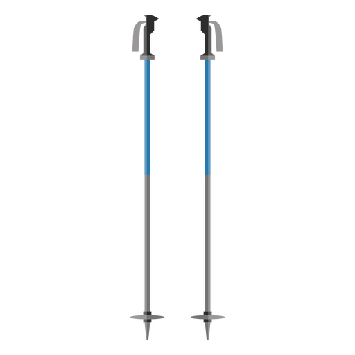 Ícone de pólos de esqui Transparent PNG